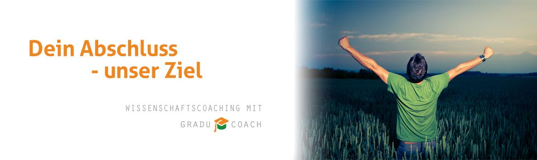 GRADU-COACH Wissenschaftscoaching & Kompetenzvermittlung